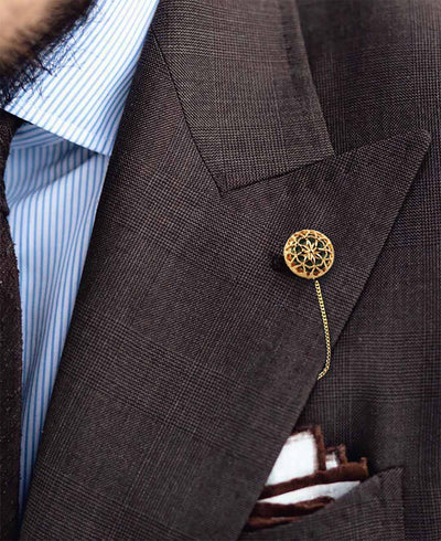 """The Music and Love"" Lapel Stick Pin"