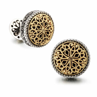 The 18K Gold Plated Cufflinks