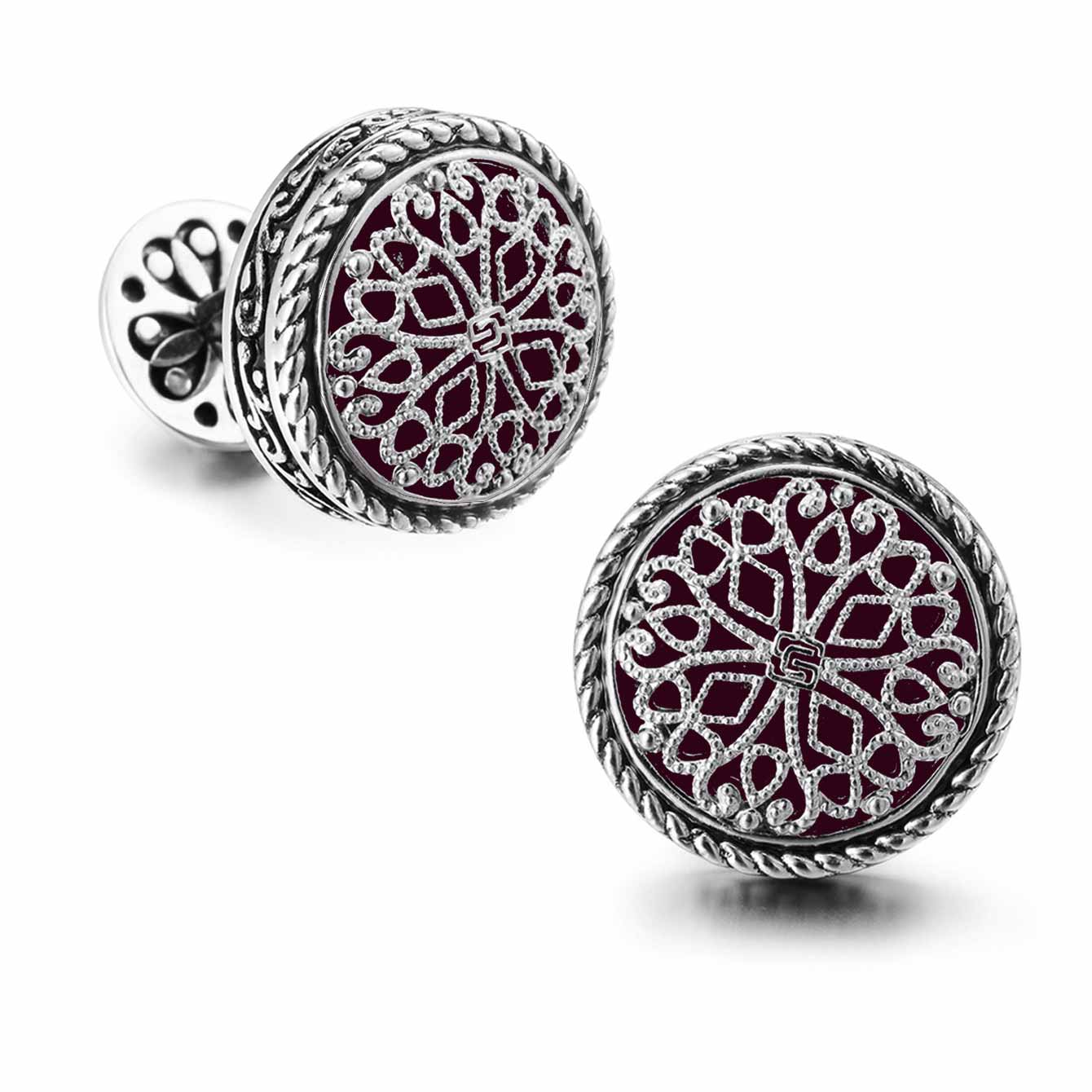 Silver Platinum Plated Cufflinks