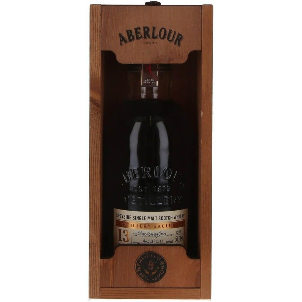 Aberlour 13 Years old Oloroso Sherry Cask Distillery Exclusive - 70cl 51.3%