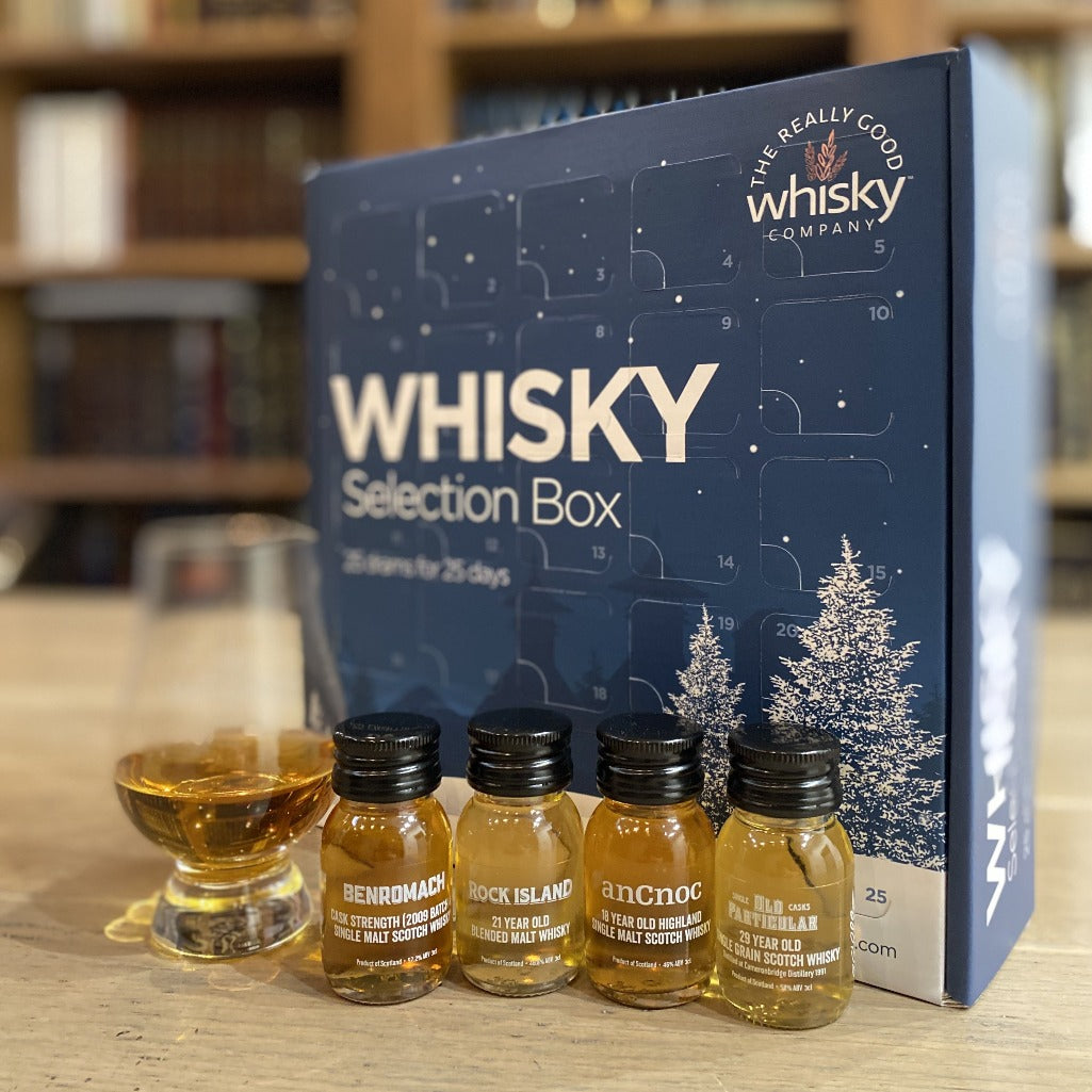 Whisky Advent Calendar (BRAND NEW 2021 Editions) 25 Drams x 30ml of Premium Whisky - AVAILABLE NOW
