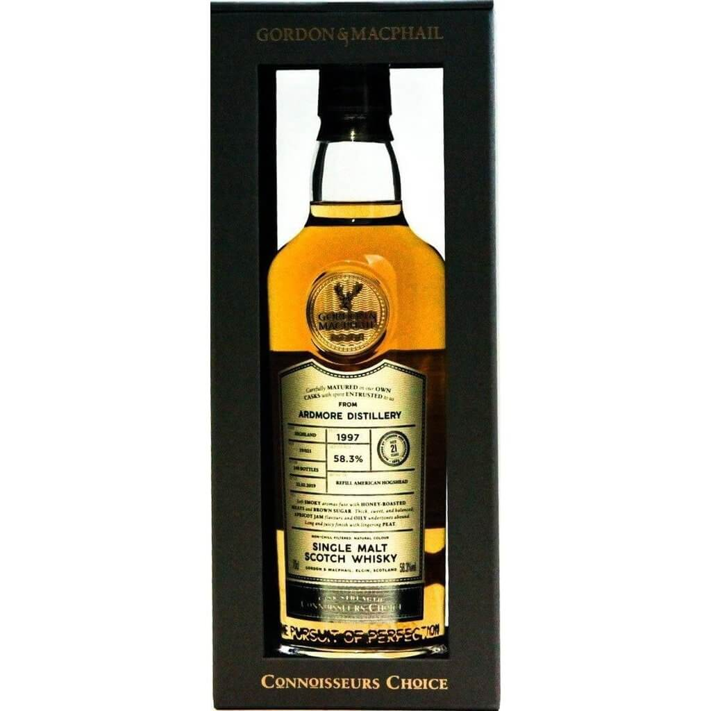 Ardmore 21 Year Old 1997 Connoisseurs Choice (Gordon & MacPhail) - 70cl 58.3%