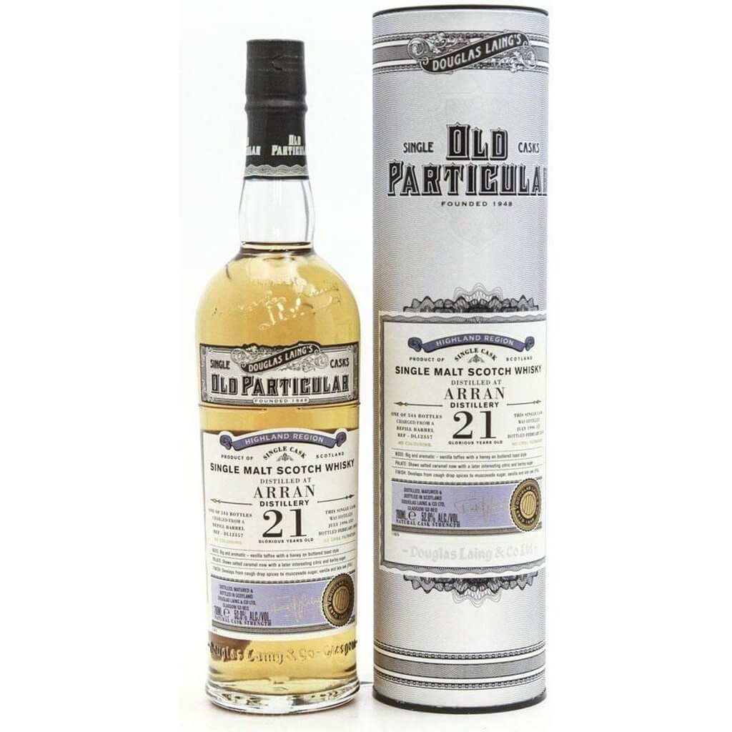 Arran 21 Year Old 1996 - Old Particular (Douglas Laing) 70cl 52%