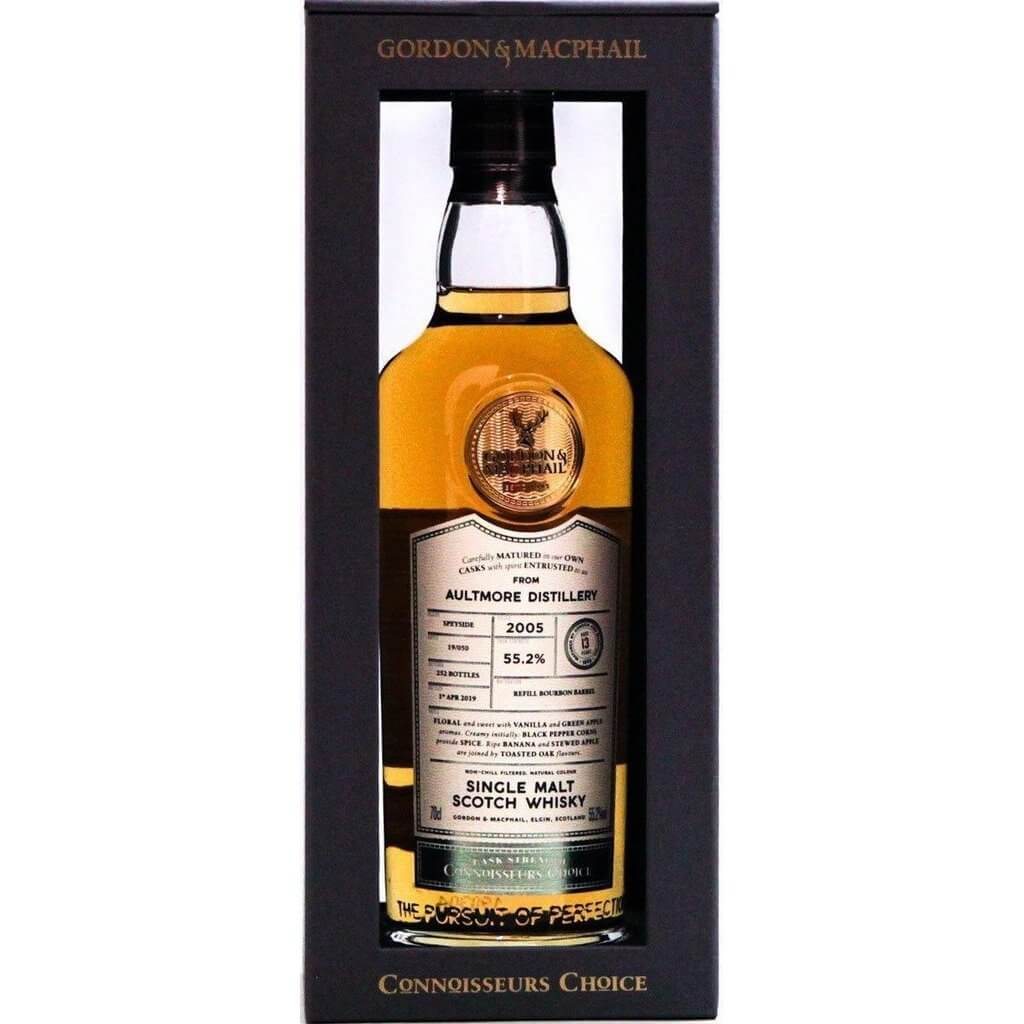 Aultmore 13 Year Old 2005 Connoisseurs Choice (Gordon & MacPhail) - 70cl 55.2%