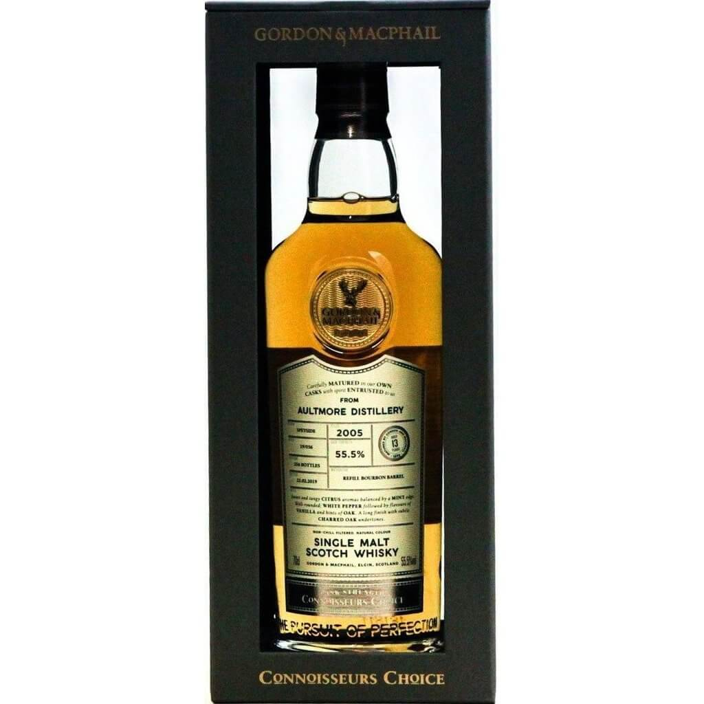 Aultmore 13 Year Old 2005 Connoisseurs Choice (Gordon & MacPhail) - 70cl 55.5%