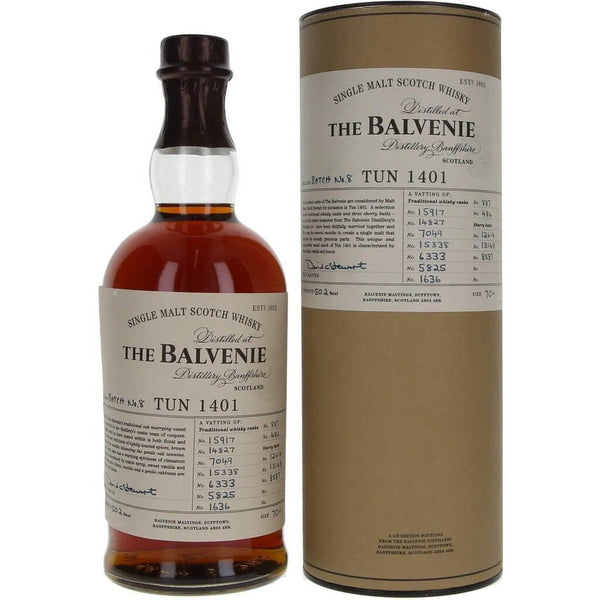 Balvenie Tun 1401 Batch 8 Single Malt Whisky - 70cl 50.2% - The Really Good Whisky Company