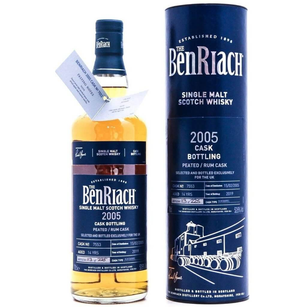 BenRiach 14 Year Old 2005 (cask 7753) - 70cl 52.6%