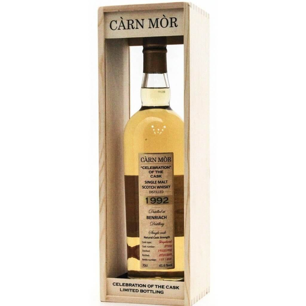 BenRiach 27 Year Old 1992 - Celebration of the Cask - 70cl 41.6%