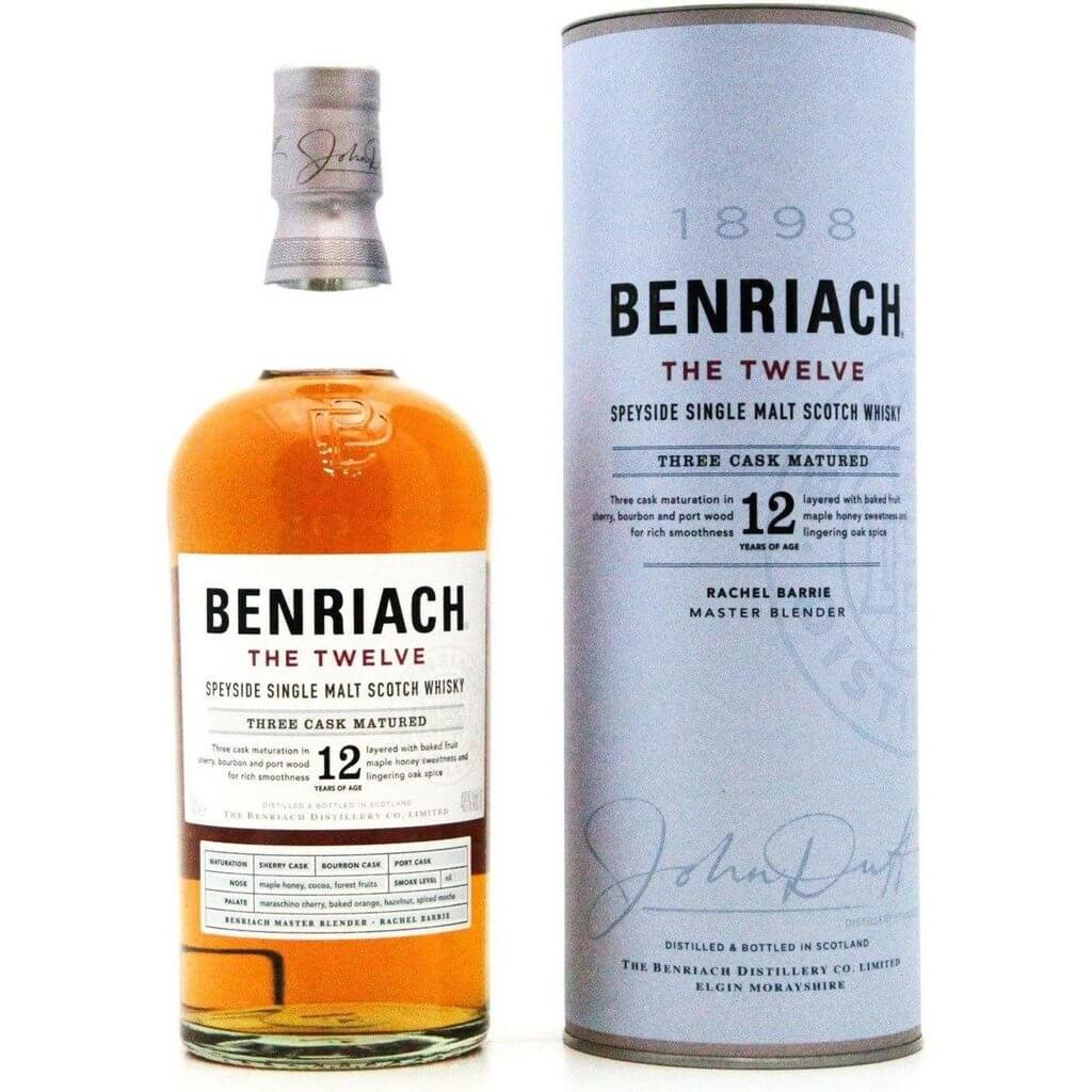 BenRiach The 12 Year Old - 70cl 46%