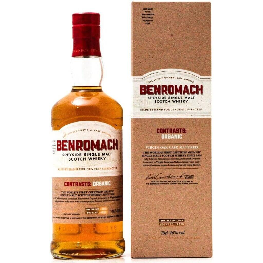 Benromach Contrasts Organic 2012 (Bottled 2020) - 70cl 46%