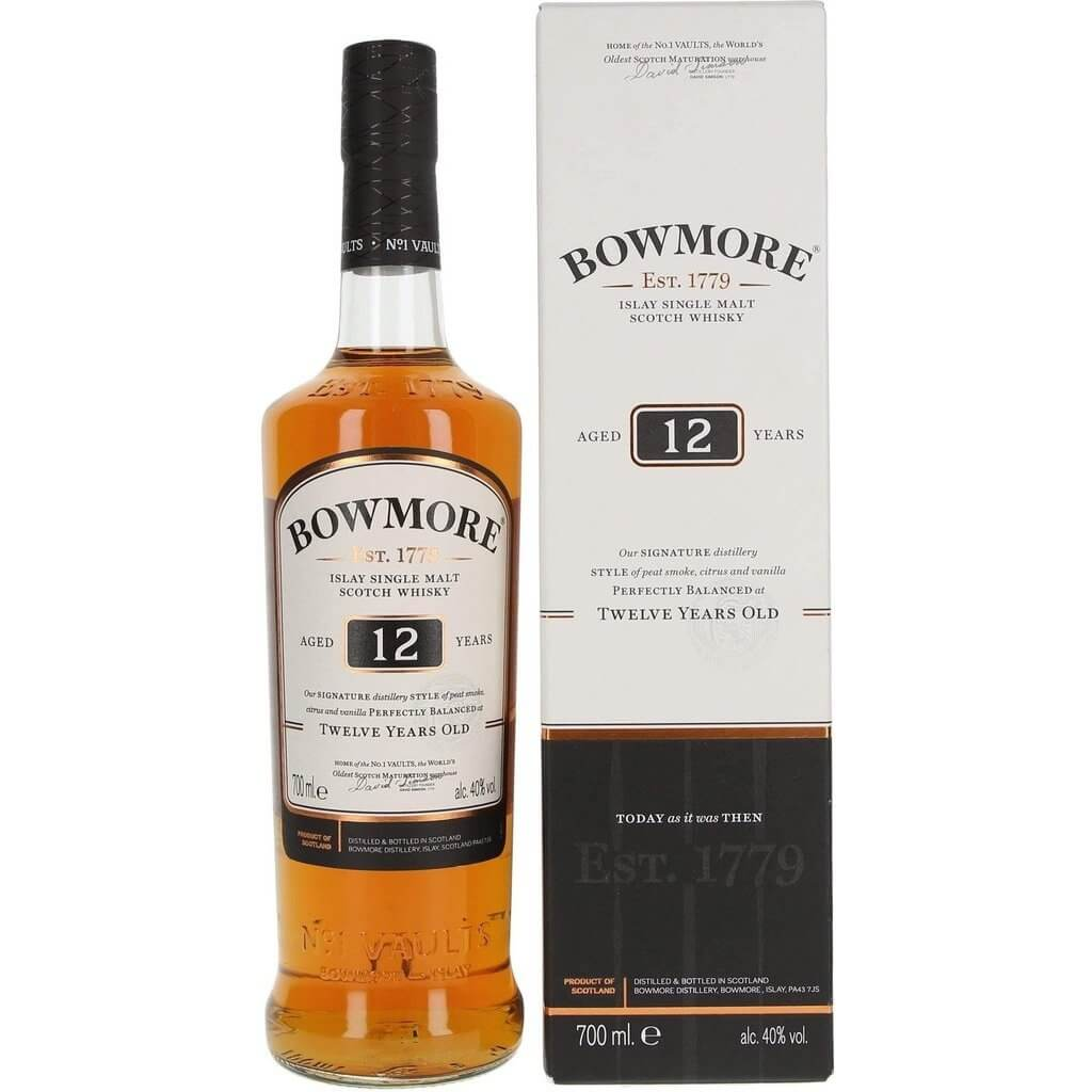 Bowmore 12 Year Old - 70cl 40%