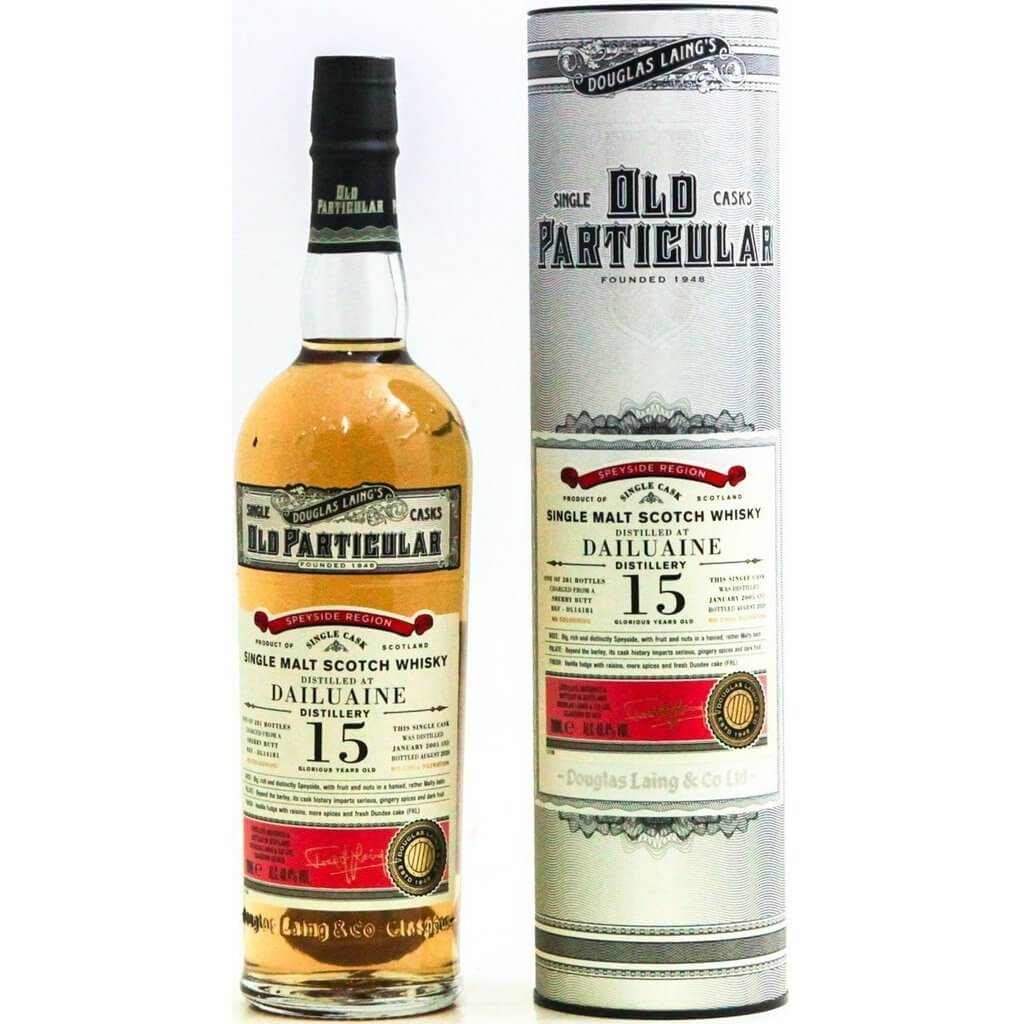 Dailuaine 2005 15 Year Old Old Particular - 70cl 48.4%
