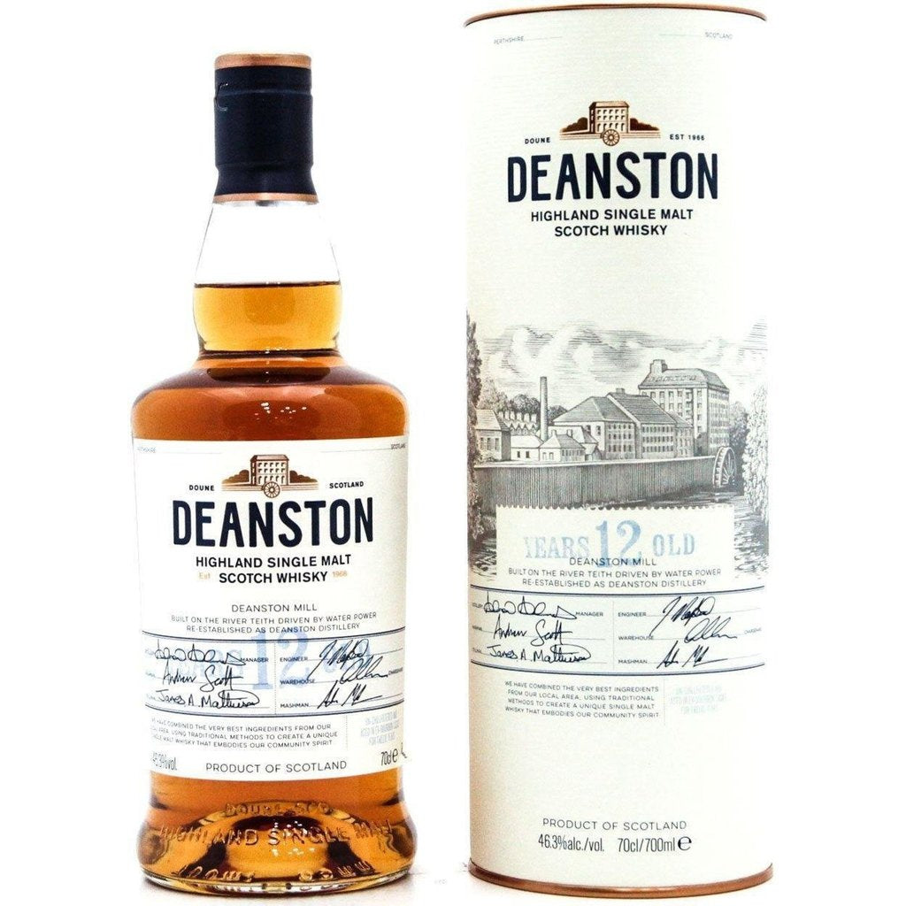 Deanston 12 Year Old - 70cl 46.3%