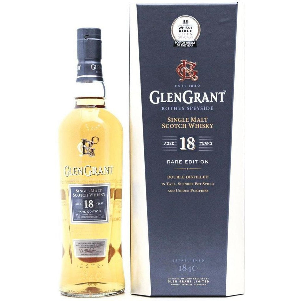 Glen Grant 18 Year Old Rare Edition - 70cl 43%