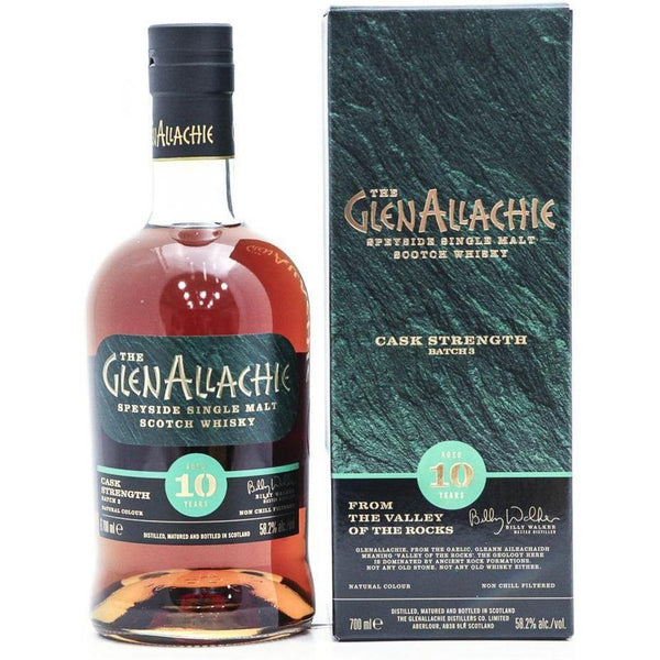 GlenAllachie 10 Year Old Cask Strength Batch 3 - 70cl 58.2% - The Really Good Whisky Company