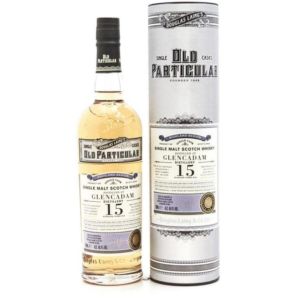 Glencadam 15 Year Old (2004) - Old Particular (Dougle Laing) 70cl 48.4%