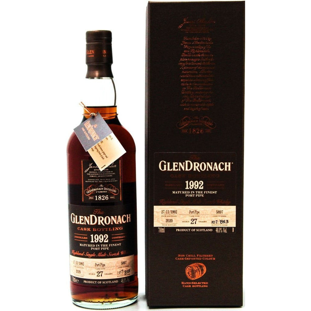 Glendronach 27 Year Old 1992 Cask 5897 - 70cl 48%