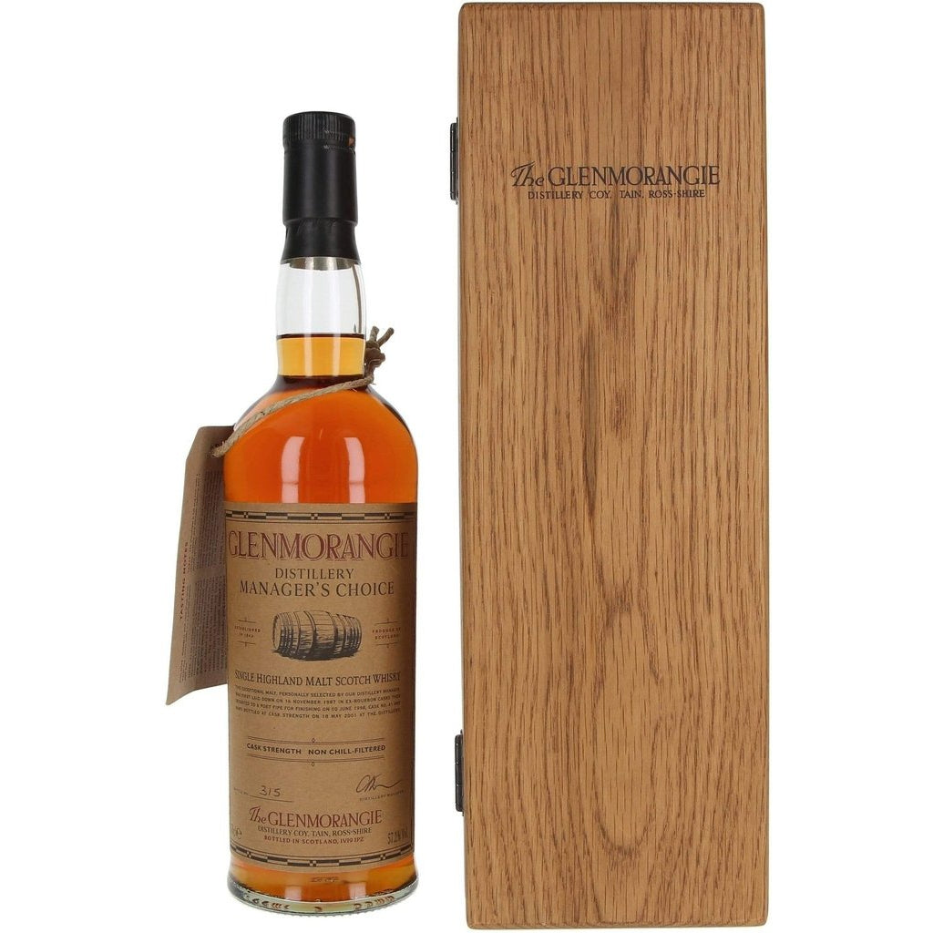 Glenmorangie Distillery Managers Choice 1987-2001 - 70cl 57.2%