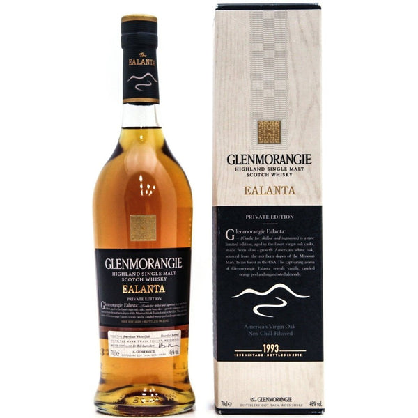 Glenmorangie Ealanta Private Edition 1993 Vintage Bottled 2012 - 70cl 46%