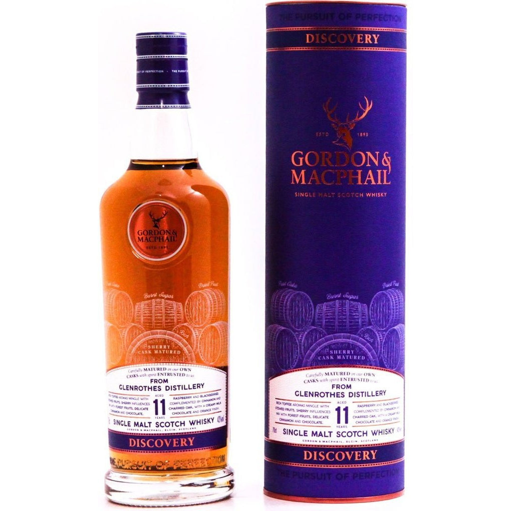 Glenrothes 11 Year Old Discovery (Gordon & MacPhail) - 70cl 43%