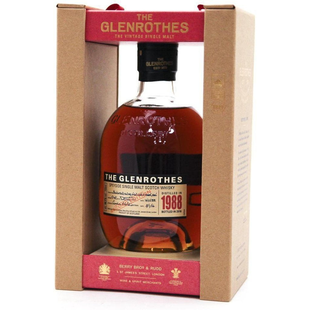 Glenrothes Vintage Second Edition 1988 -2016