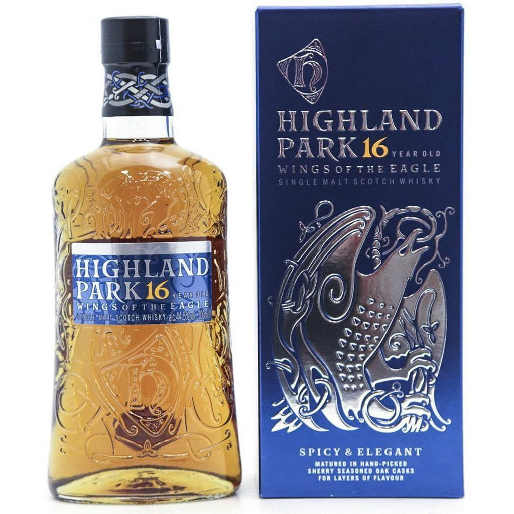 Highland Park 16 Year Old  Wings of the Eagle - 70cl 44.5%