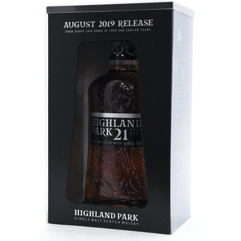 Highland Park 21 Year Old - August 2019 Release- 70cl 46%