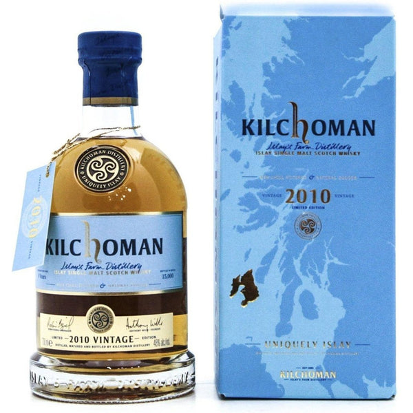 Kilchoman 2010 Vintage 9 Year Old - 70cl 48% - The Really Good Whisky Company
