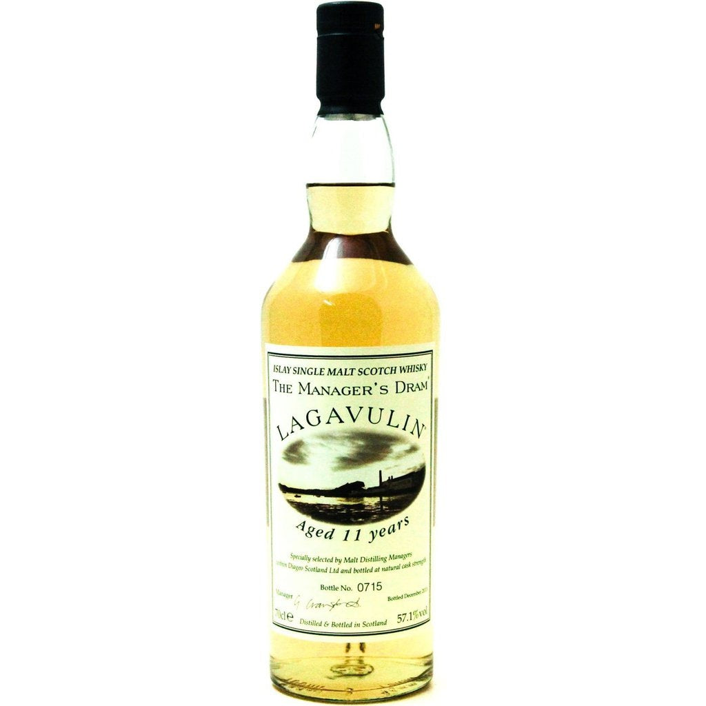 Lagavulin 11 Year Old The Managers Dram - 70cl 57.1%
