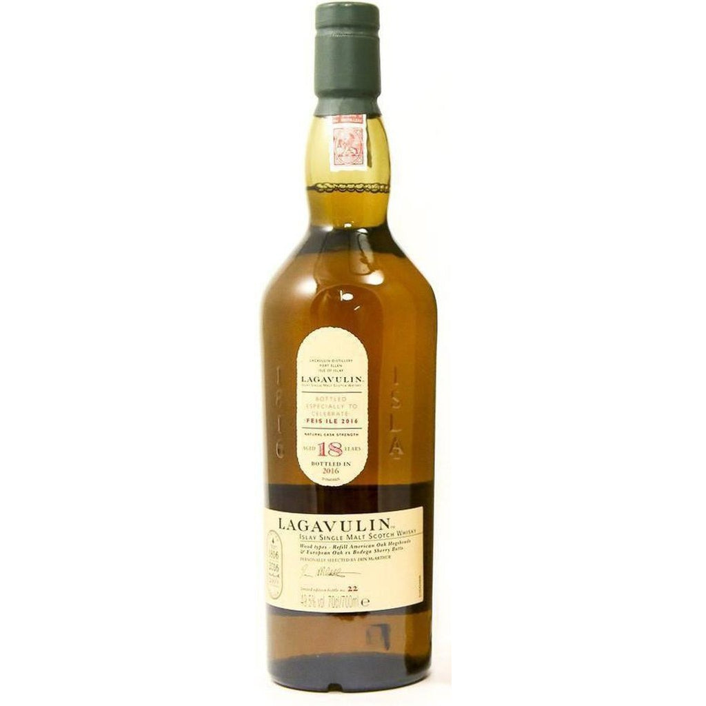 Lagavulin 18 Years Old - Feis Ile 2016 Scotch Whisky - 70cl 49.5%