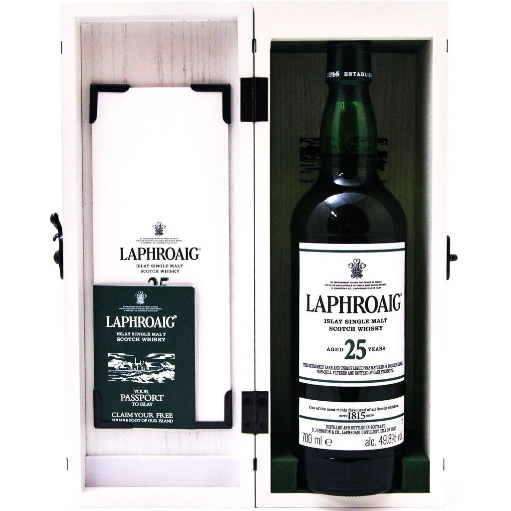 Laphroaig 25 Year Old Cask Strength 2020 Release - 70cl 49.8%