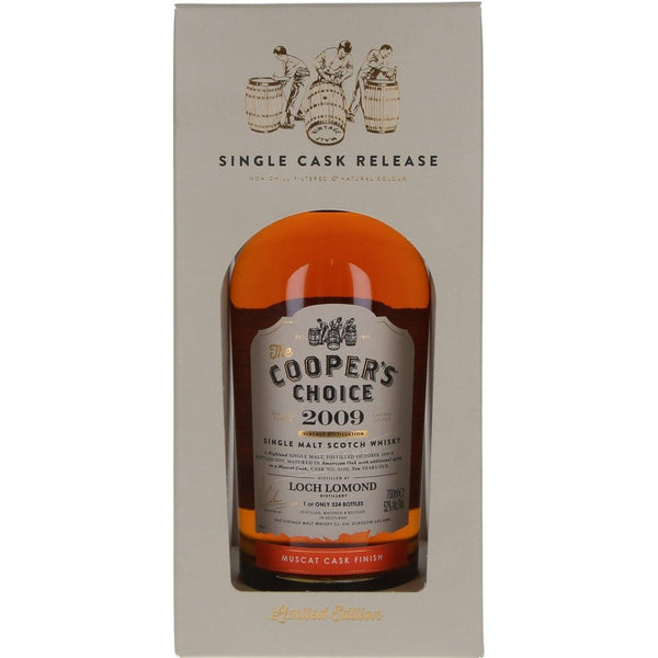 Loch Lomond 10 Year Old 2009 (cask 9526) The Cooper's Choice - 70cl 52% - The Really Good Whisky Company
