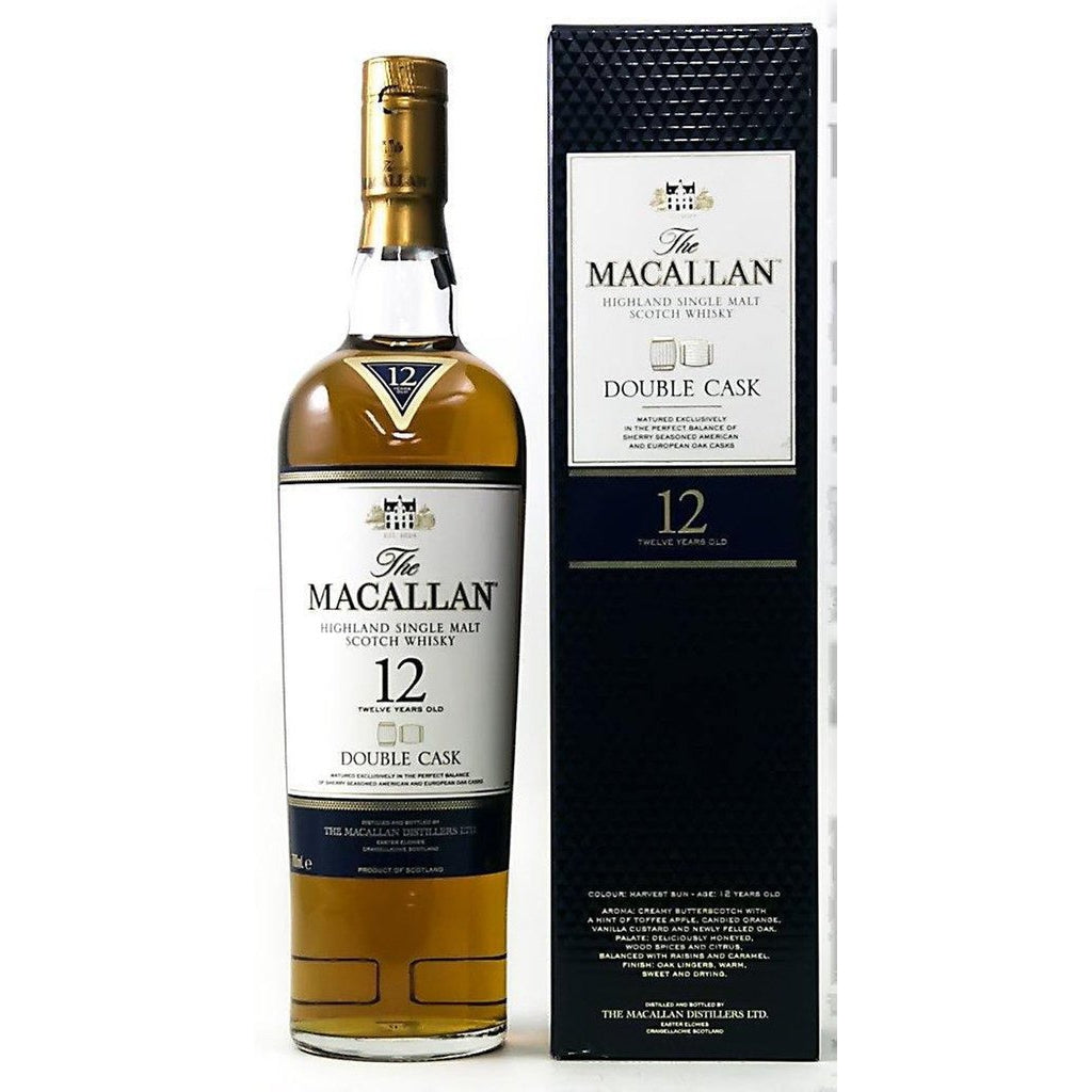 Macallan 12 Year Old Double Cask Whisky