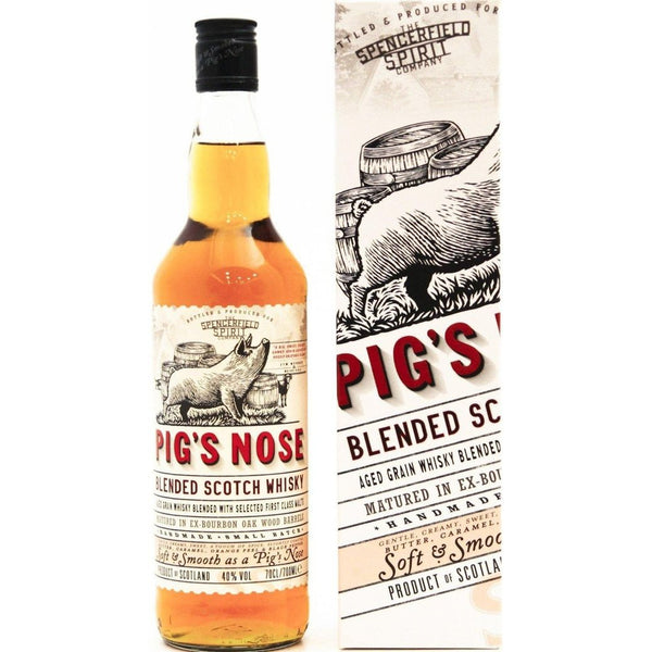 Pig's Nose Blended Scotch - 70cl, 40% - The Really Good Whisky Company