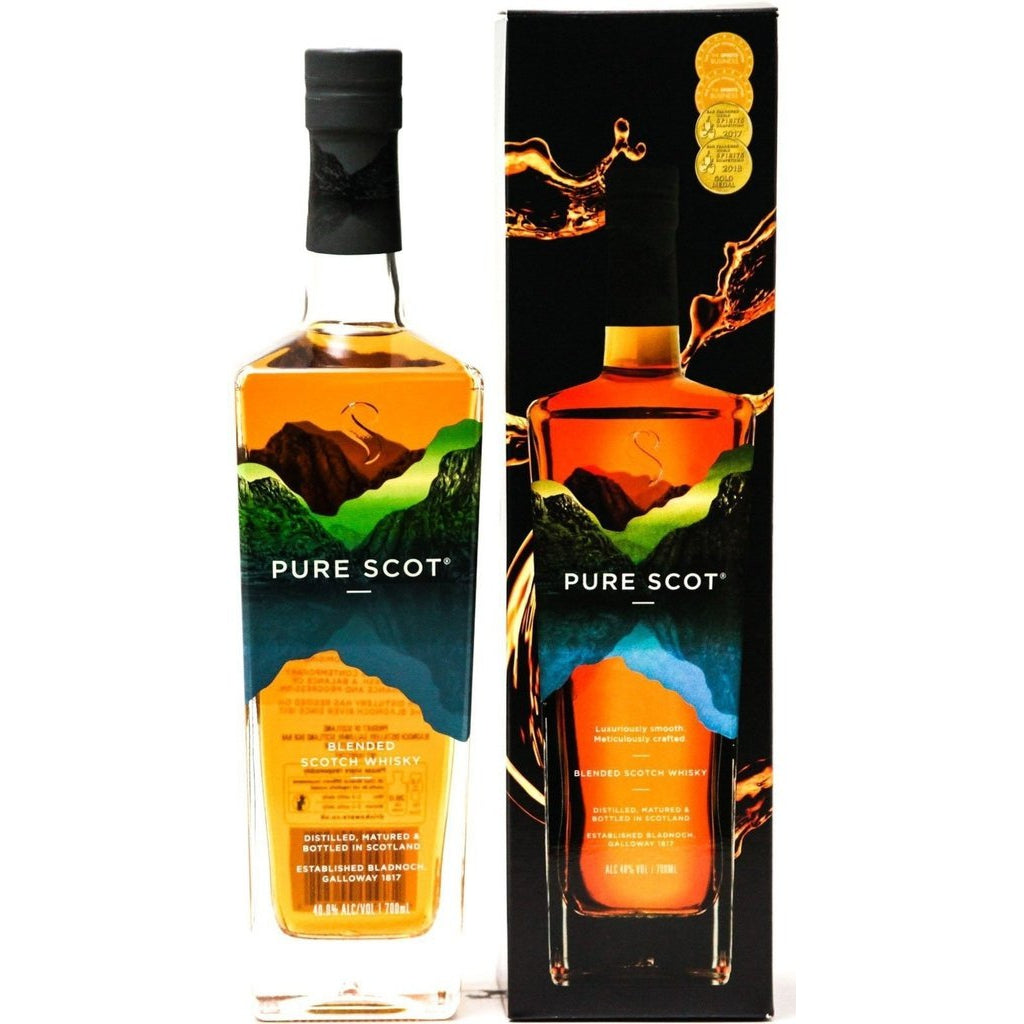 Pure Scot Blended Whisky (Bladnoch Distillery) - 70cl 40%