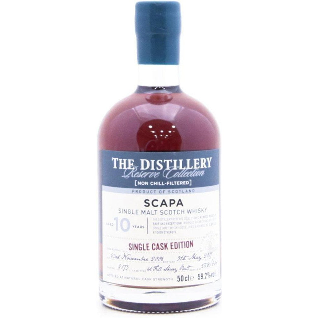 Scapa 2006 Reserve Collection 10 Year Old Single Cask Edition - 50cl 59.2%