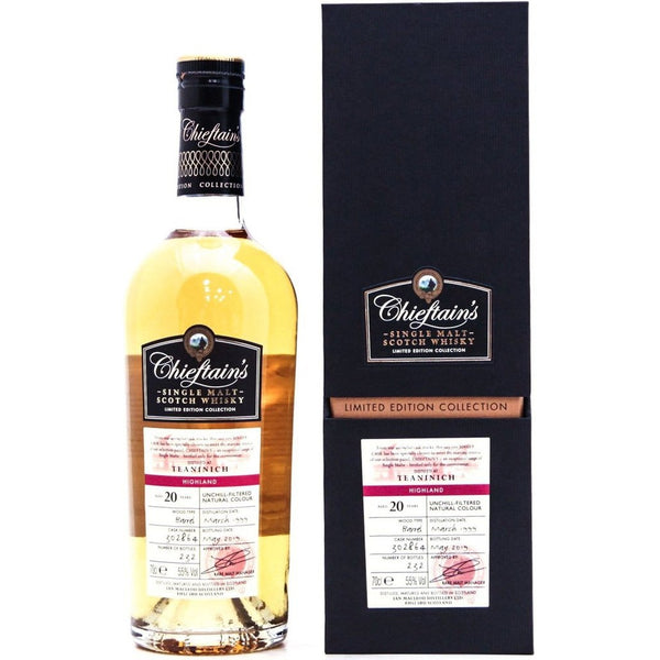 Teaninich 20 Year Old 1999 (cask 302864) Chieftain's (Ian Macleod) - 70cl 55%
