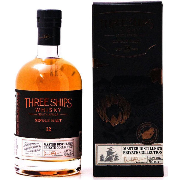 Three Ships 12 Year Old Single Malt Whisky - 70cl 46.3%