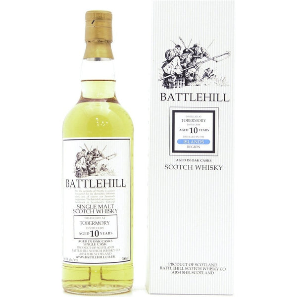 Tobermory 10 Year Old 2008 Battlehill (Duncan Taylor) - 70cl 46%