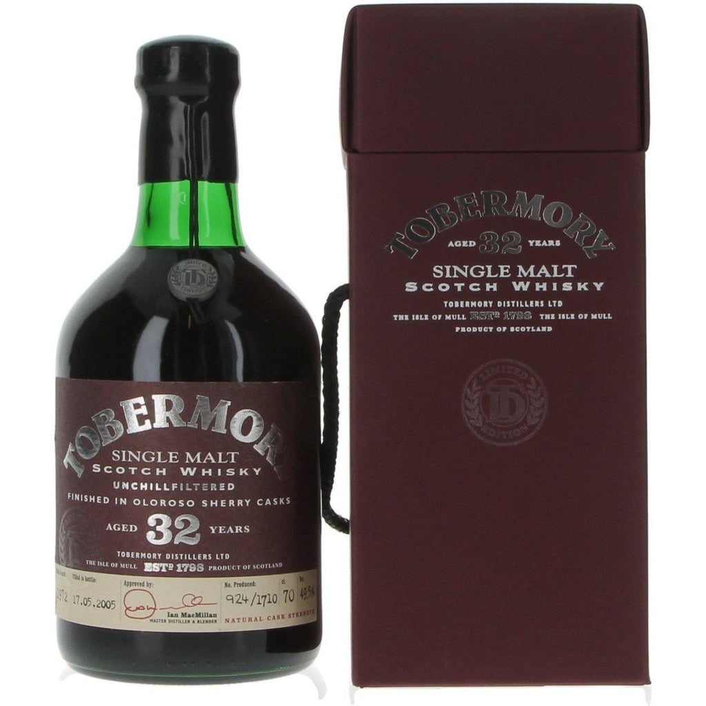 Tobermory 32 Years Old 1972 - 70cl 49.5%