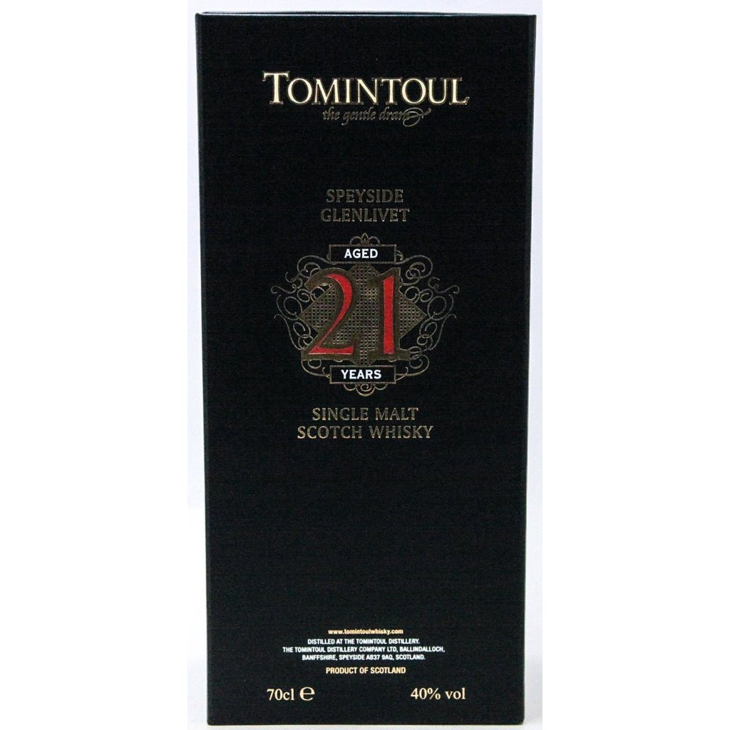 Tomintoul 21 Year Old - 70cl 40%