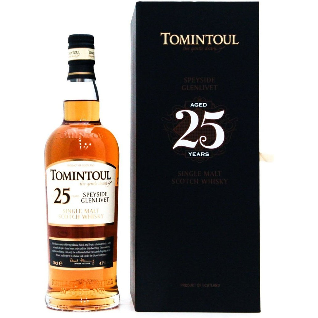 Tomintoul 25 Year Old - 70cl 43%