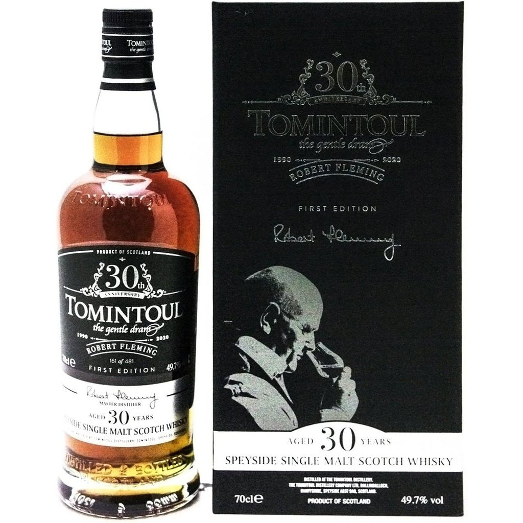 Tomintoul 30 Year Old Robert Fleming 30th Anniversary 1990 - 70cl 49.7
