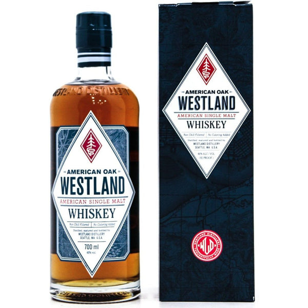 Westland American Oak Whiskey - 70cl 46%