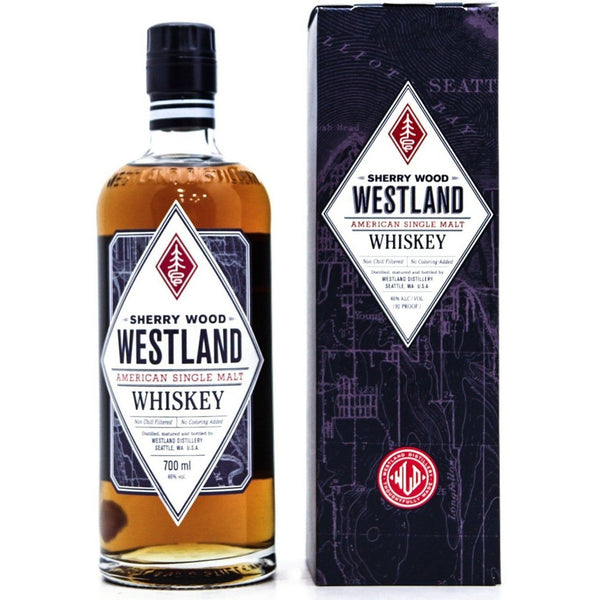 Westland Sherry Wood Whiskey - 70cl 46%