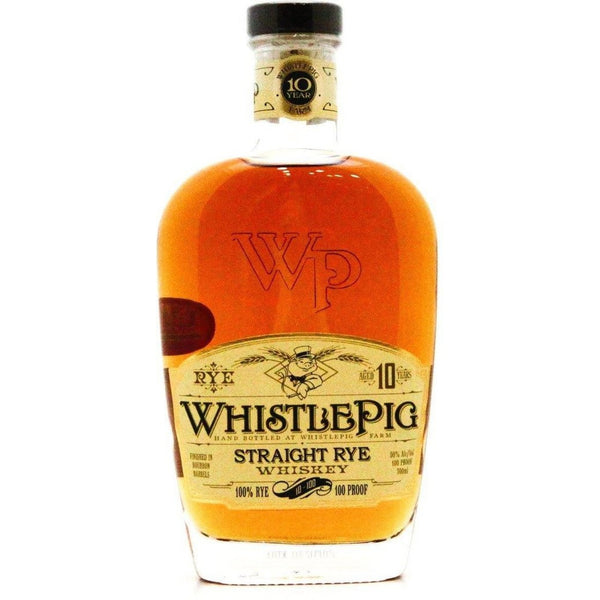 WhistlePig 10 Year Old - 70cl 50% - The Really Good Whisky Company