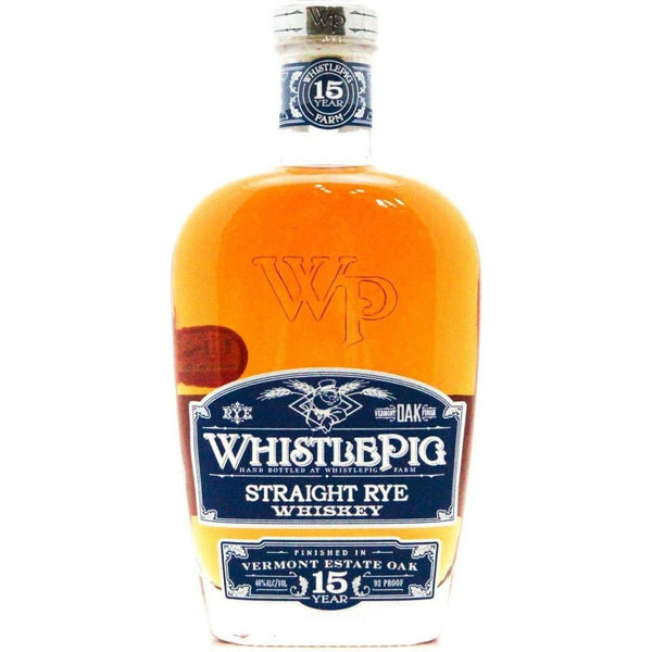 WhistlePig 15 Year Old - 70cl 46% - The Really Good Whisky Company