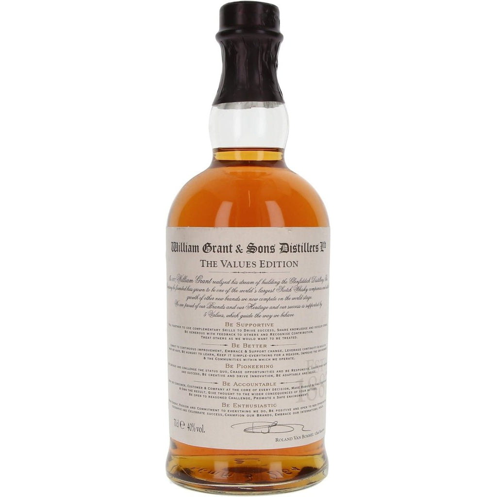 William Grant and Sons Distillers The Values Edition - 70cl 40%