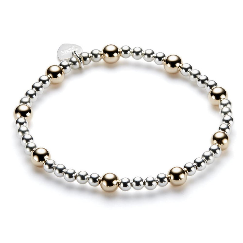 Arial Bracelet (Silver/Gold)