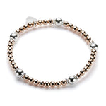 Estella Bracelet (Rose Gold/Silver)